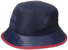 Kangol Herren Fischerhut Gr. M, Blau (Marineblau) -