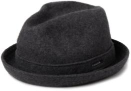 kangol Herren Mütze, Wool Player, GR. Large (Herstellergröße: Large), Grau (Dark Flannel) -