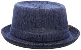 Kangol Herren Porkpie-Hüte Gr. Large, Blue (indigo Wash) -