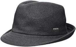 Kangol Herren Trilby Wool Arnold, Gr. Medium (Herstellergröße: Medium), Grau (Dark Flannel) -