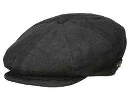 Kangol Oxford Ripley Ballonmütze Schirmmütze aus Baumwolle - schwarz M/56-57 -