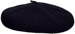 kangol Unisex Baskenmütze Anglobasque Beret, Gr. Large (Herstellergröße: Large), Blau (Dark Blue) -