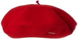 Kangol Unisex Baskenmütze Gr. One Size, Rot - Rot -