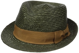 Kangol Unisex Filzhüte Wheat Braid Arnold Trilby Green (Laurel), X-Large -