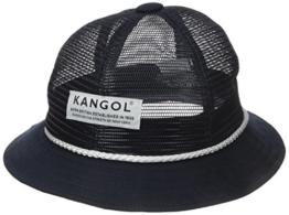Kangol Unisex Fischerhut Gr. Medium, Blau - Blau (Marineblau) -
