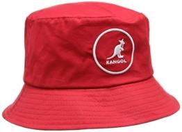 Kangol Unisex Fischerhut Gr. Small, Red (Rojo) -