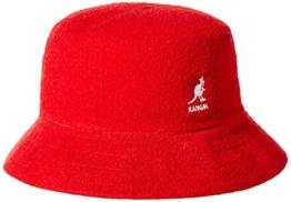 Kangol Unisex Fischerhut Gr. Small, Rot - Red (Scarlet) -