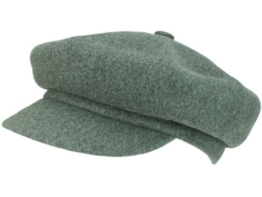 Kangol Wool Spitfire Ballonmütze Schirmmütze aus Wolle - dark flanell S/54-55 -
