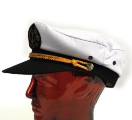 Kapitänsmütze Größe 56 -