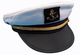 Kapitänsmütze von Modas Gr. 60 -