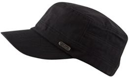 KATHMANDU Schirmmütze / Schildmütze in schwarz, Castro Cuba Cap (schwarz) -
