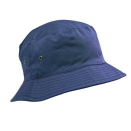Kindermütze Qualitätsbaumwolle Sommer-Sonnenhut Bucket Hat–Alter 5bis 11Jahren, Mädchen & Jungs, verschiedene Farben Gr. 56 cm, königsblau -