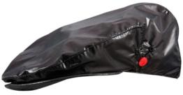 Knirps Raincap Drop trendy Regenkappe Regenmütze für Damen glanz schwarz L-XL -