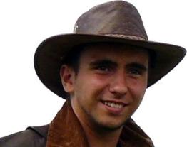 Kookaburra Brisbane Foldaway Hat, Antique, Größe M -