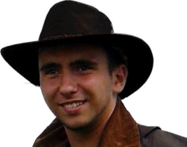 Kookaburra Brisbane Foldaway Hat, Black, Größe S -