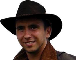 Kookaburra Brisbane Foldaway Hat, Black, Größe L -