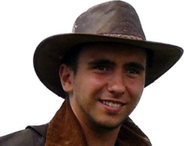 Kookaburra Brisbane Foldaway Hat, Antique, Größe M/L -