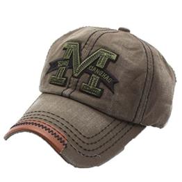 Lalang Unisex Baseball Cap Jeans Sport Mütze Baseballkappe Outdoor Sonnenschutz Hut (3#) -