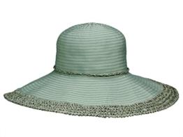 Loevenich SZ-12BRT Damen Hut Flapper Schlapphut aus Stroh - bamboo -
