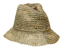 Loevenich SZ-585 Damen Hut Flapper Schlapphut aus Stroh - natur -