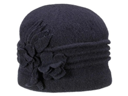 Loevenich Walkmütze aus Wolle - blau -