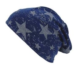 """Long Beanie """"Stars"""" von Ella Jonte doppellagig im coolen Sterne-Look in 4 Farben - die hippe Trendsettermütze im Oversize-Look - kombiniert perfekt Style und Komfort -"""