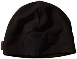 Mammut Erwachsene Beanie Fleece, Black, One Size, 1090-02562-0001-1 -