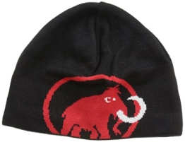 Mammut Erwachsene Beanie Tweak, Black-Inferno, One Size, 1090-01351-0575-1 -