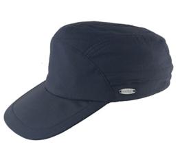 MAYSER Cap Basecap UV-Schutz Outdoor Robin mit Nackenschutz - Sunblock - Unisex Marine S/55-56 -