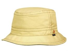 Mayser Chapper aus Sympatex Fischerhut aus Stoff - beige 55 -