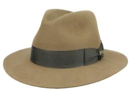 Mayser Classic Indiana Jones Fedora Filzhut - braun 58 -