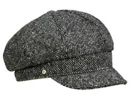 Mayser Coco Ballonmütze Damenmütze aus Wolle - schwarz L/58-59 -