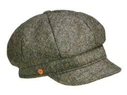 Mayser Coco Damenmütze Ballonmütze aus Schurwolle - stone M/56-57 -