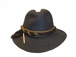 Mayser Damen Trachtenhut Stichelhaar 11635 bleu -