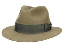 Mayser Indy Indiana Jones Fedora Filzhut - braun 54 -