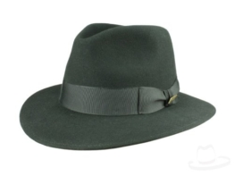 Mayser Indy Indiana Jones Fedora Filzhut - schwarz 63 -