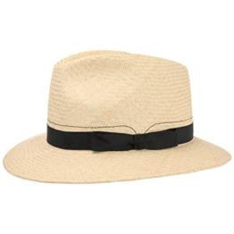 Mayser Malloy Traveller Panamahut Panamastrohhut Hut Strohhut Herrenhut Sommerhut Sonnenhut Panamahut Herrenhut (62 cm - natur) -