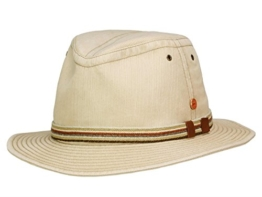 Mayser Menowin Traveller Hut Outdoorhut mit UV-Schutz aus Baumwolle - beige 58 -