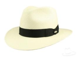Mayser Menton Panamahut Traveller aus Stroh - bleached 56 -