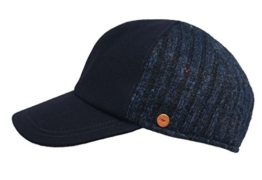 Mayser Outdoorcap Winterblue im Schurwollmix -