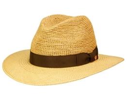 Mayser Ricardo Panamahut Traveller aus Stroh - braun 54 -