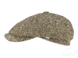 Mayser Seven Ballonmütze Schirmmütze aus Wolle - braun 56 -