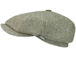 Mayser Seven Premium Ballonmütze Schirmmütze aus Wolle - beige 62 -