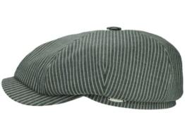 Mayser Seven Stripes II Ballonmütze Schirmmütze - grau 55 -