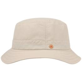 Mayser UV-Schutz Sonnenhut Bucket Hat Fischerhut Stoffhut Hut Sommerhut Sonnenhut Hut (58 cm - beige) -