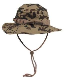 MFH Boonie Hat Australian Buschhut Junglehat Tropenhut Wüstenhut mit Kinnband S-XL -