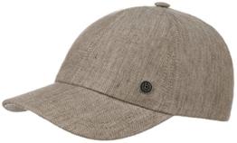 Mini Fischgrat Cap Baseballcap Sommercap Basecap bugatti Basecap Baseballcap (XL/60-61 - beige) -