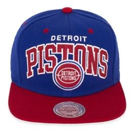 Mitchell and Ness NA80Z NBA CAP Snapback PISTONS EAGLES Einheitsgröße NEU!, Kappengröße:one size;Farbe:Blau Rot -