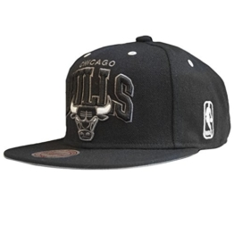 Mitchell & Ness BGW Snapback - CHICAGO BULLS - Black-Black, Size:ONE SIZE -