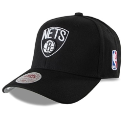 MITCHELL & NESS COTTON STRETCH FIT CAP Brooklyn Nets #056 - L/XL - -